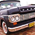 Retour au retro sur mer vintage weekender 2017 - some kool chevy pickups and the lonesome ford