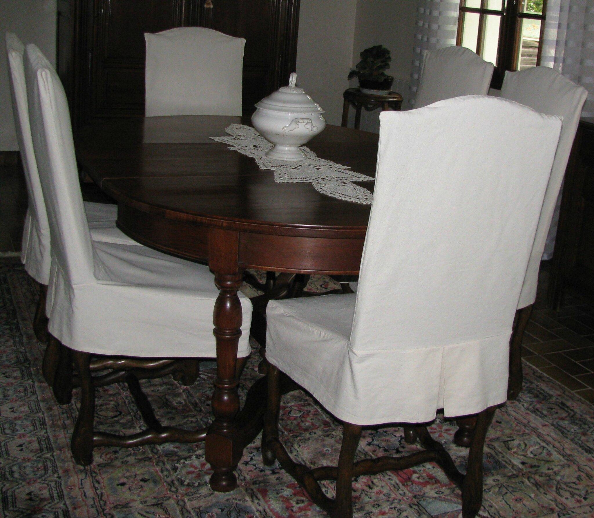 Housse courte photo de housses de chaises housses de chaises sur mesure m - Housse de chaise sur mesure ...