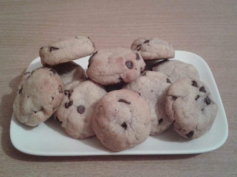 biscuits choco noisettes