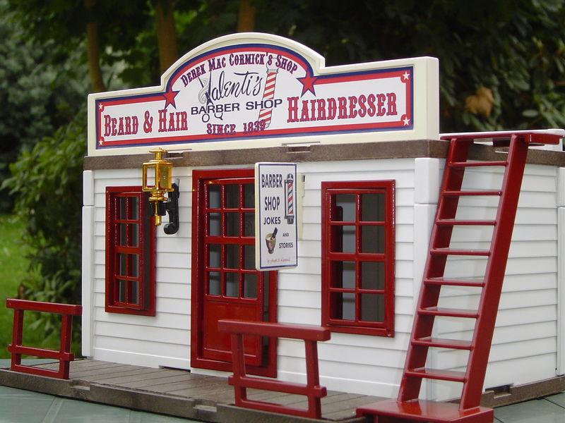 Barber shop New - Playmobil? Tuning Western (EN CONSTRUCTION)