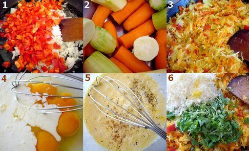montage pian de legumes