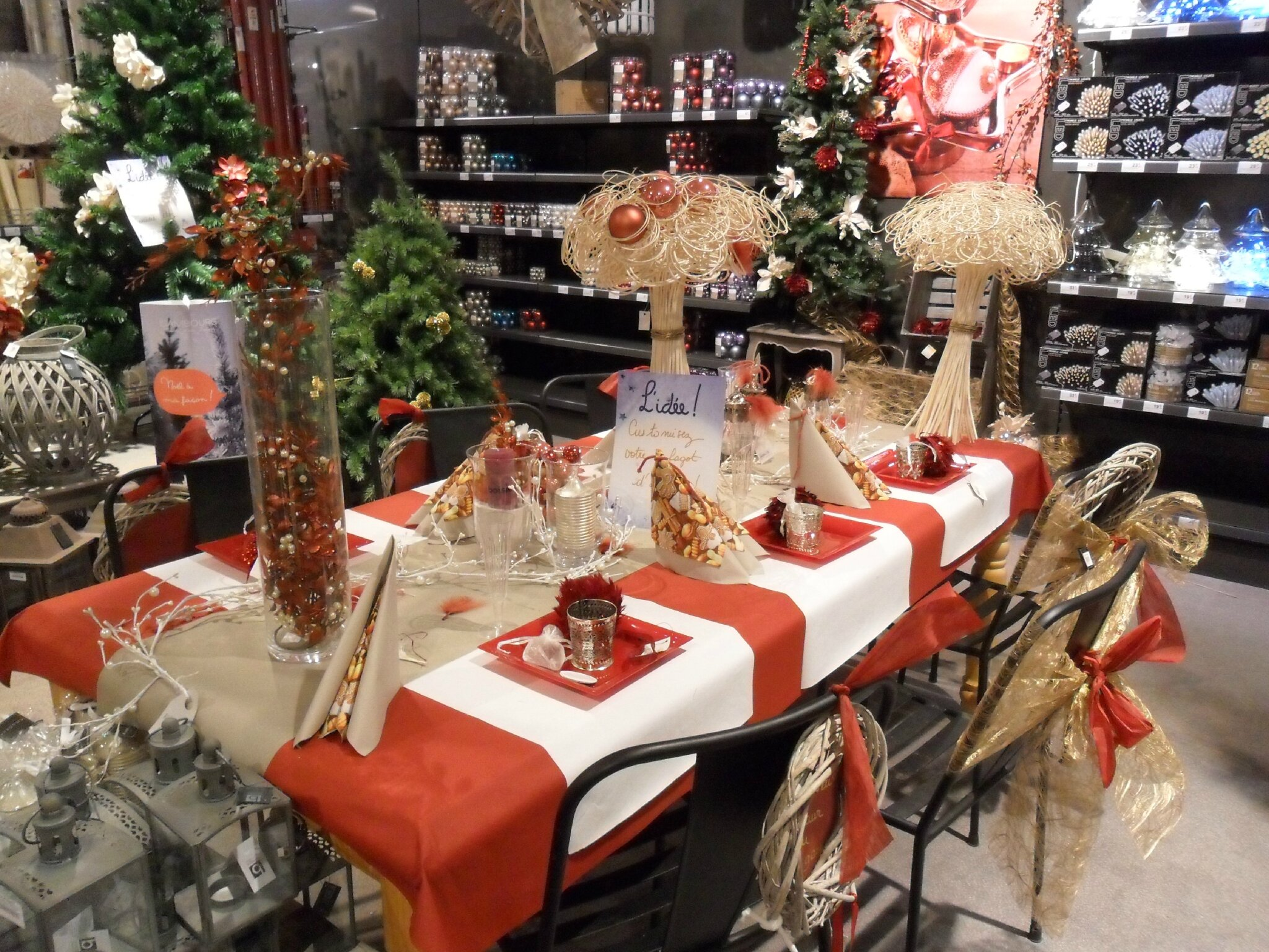 D cos de tables chez isambourg christmas ideas for Deco s