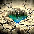 Des sources d'eau douce jaillissent du fond de la mer morte