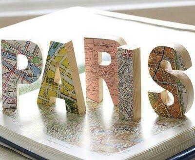 Lettres cartes géographiques