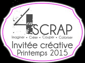 Badge Invitée Créative 371 par 284