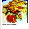 #180 - clafoutis aux tomates cerises et au jambon