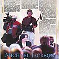 Michael jackson en france: un étranger à paris et à monaco - black & white n°18, juin 1996