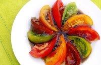 Rosace de tomates