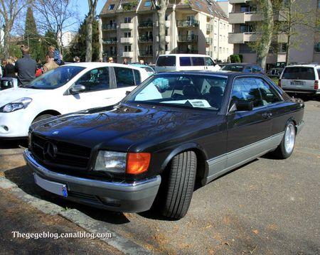 Mercedes 500 SEC (Retrorencard avril 2012) 01