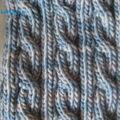 torsades tricot