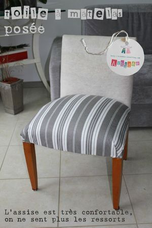 Petite chaise avec sa toile