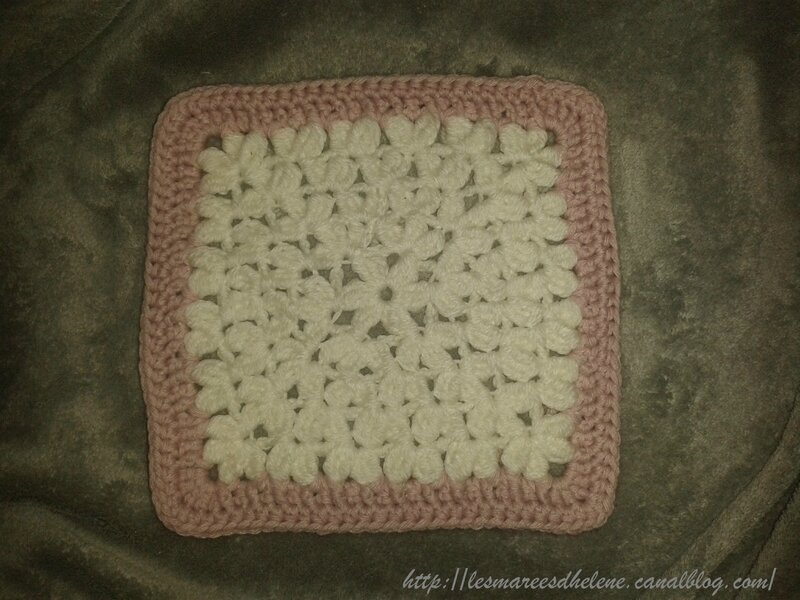 Treble Afghan square Crochet 2014