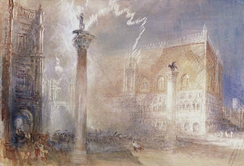 __JMW_Turner_-_The_Piazzetta__Venice__1840