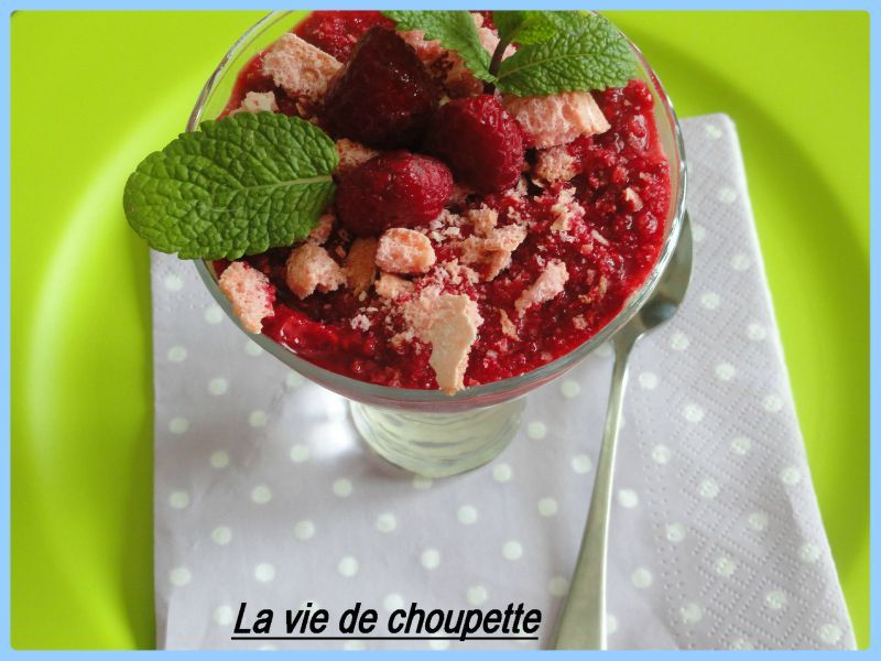 CREME DE PERLES AUX FRUITS