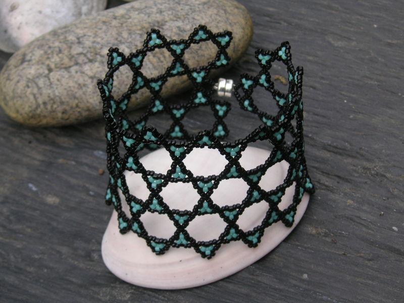 Bracelet Archimedes's star en rond