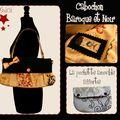 Cabochon Baroque/Noir