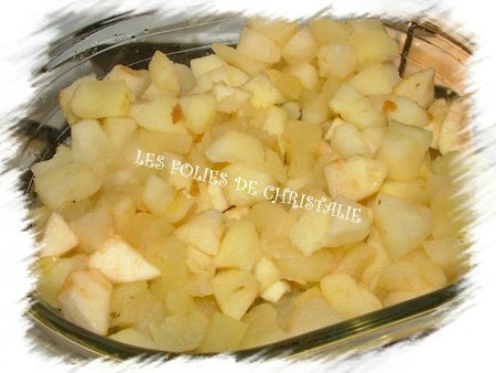 Galette des rois pommes cerises 2
