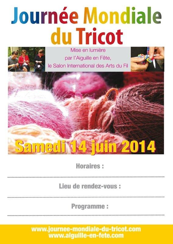 Journée Mondiale du Tricot : 14 JUIN 2014