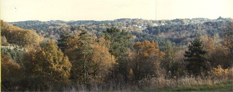 panorama depuis Sourbarie côté la Bonnélie