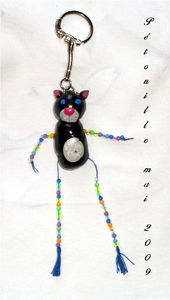 porte_cle_chat_fimo