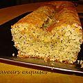Cake moelleux au citron et au pavot