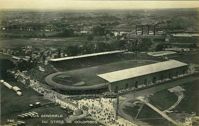 CPA Paris 1924 JO Stade Colombes