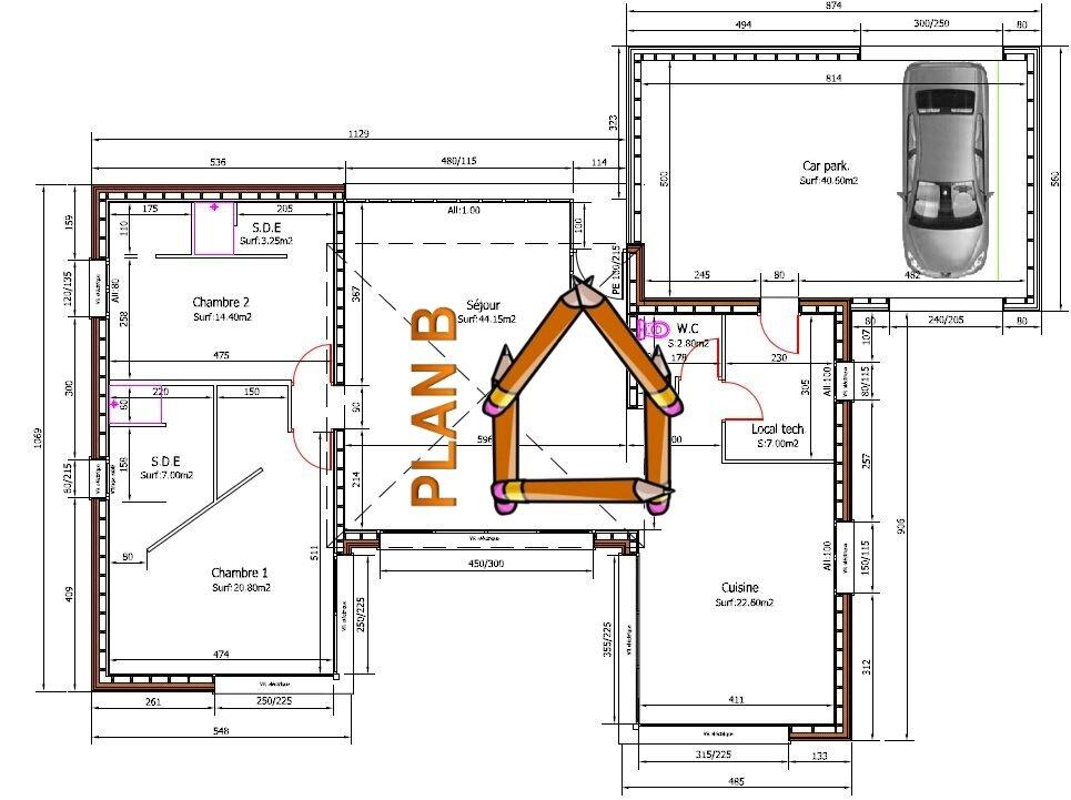 Plan Pour Construire Une Maison Maison  Cubique Moderne Building