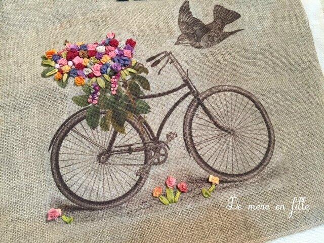 vélo et oiseau