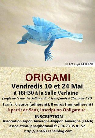 Atelier Origami mai 2013 JANA