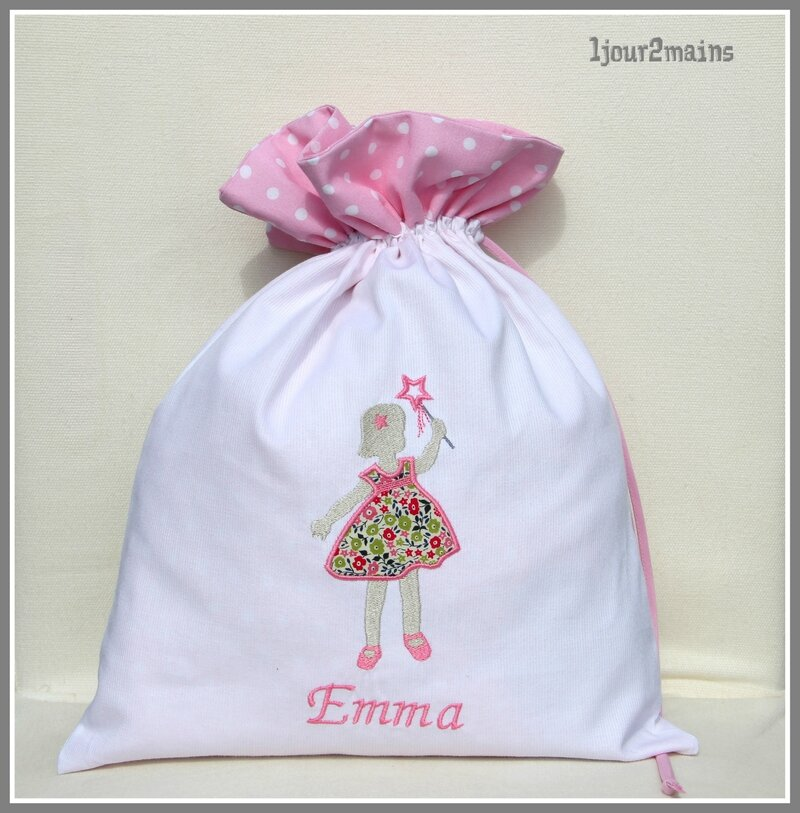 sac fillette baguette Emma