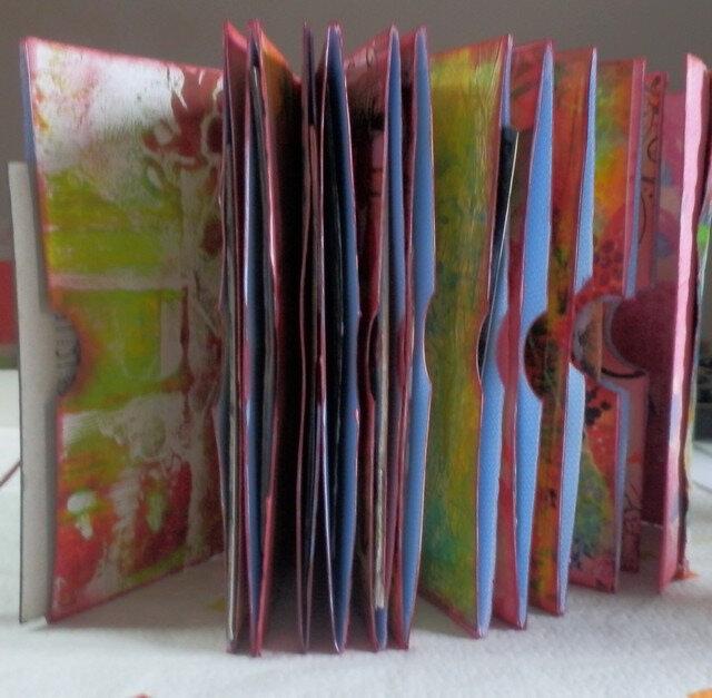 mini album enveloppes recyclée