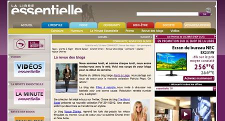 Revue des blogs Alerte à Liège