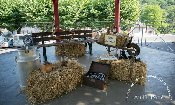 Deco Mariage Theme Nature Campagne