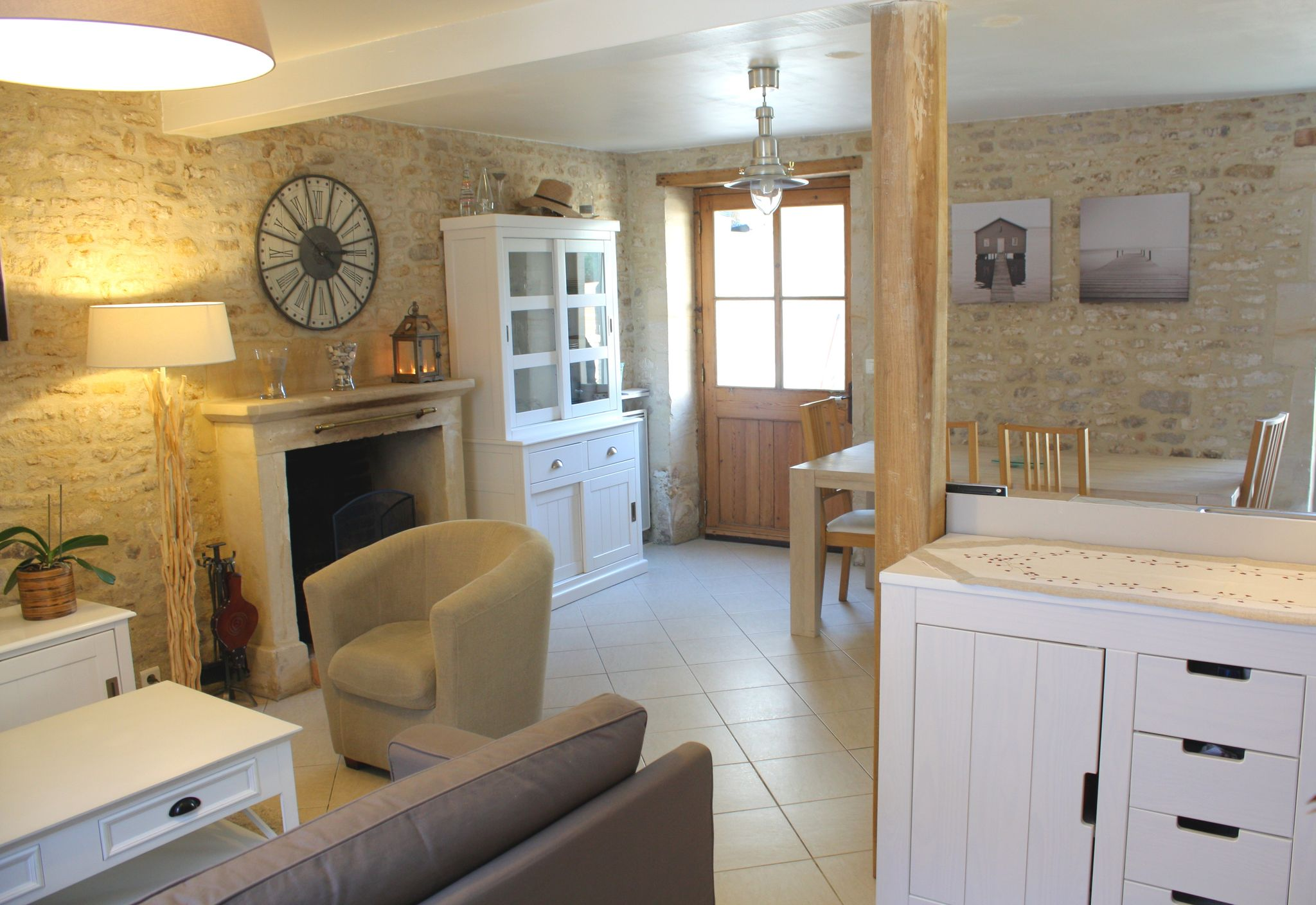 Projet client ambiance cottage en normandie sonia for Decoration maison normande traditionnelle