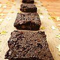 Brownies au chocolat et noix de pécan