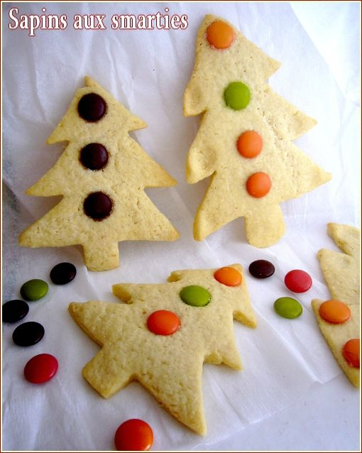 sapins aux smarties