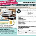 Grand concours passion scrapbooking/sizzix