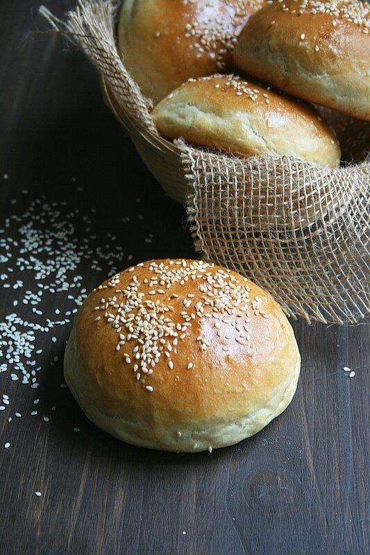 Pains burgers Buns - Passion culinaire 2