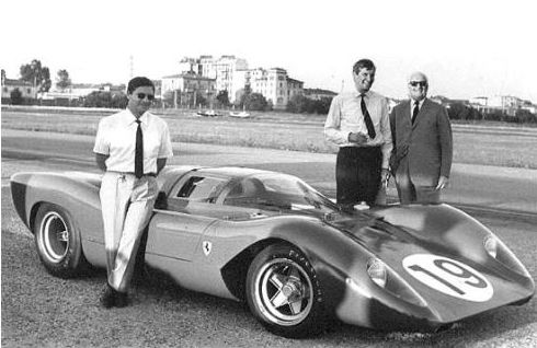 1969-Enzo_Caliri_Parkes & 312 P Berlinetta-Modena