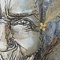 --- essais aquarelle & crayons ---