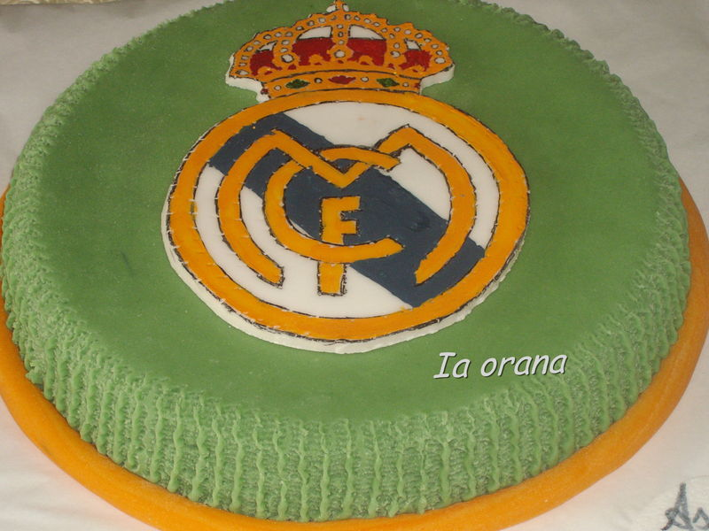 deco gateau real madrid