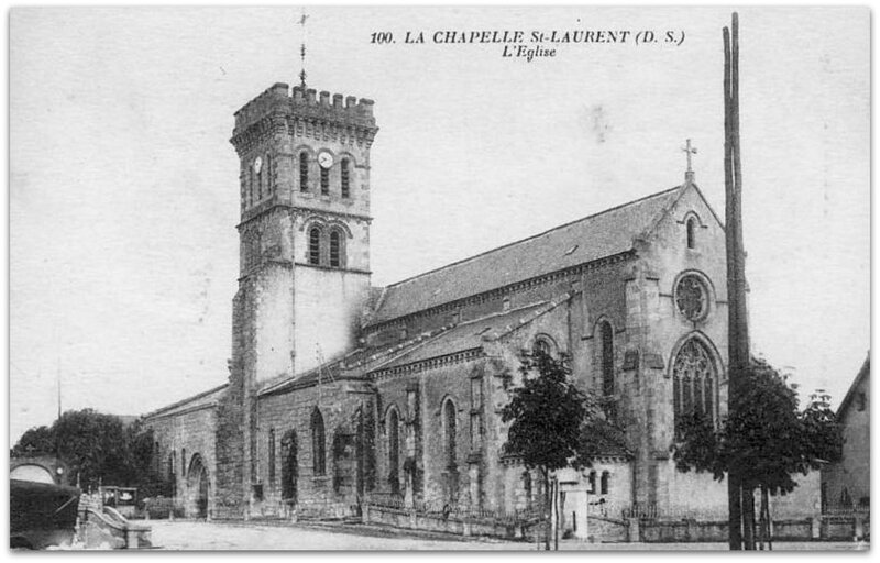 La Chapelle-Saint-Laurent z