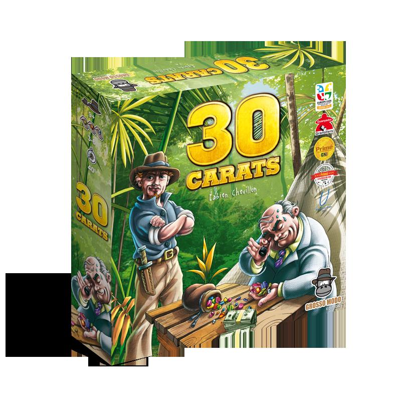 Boutique jeux de société - Pontivy - morbihan - ludis factory - 30 carats