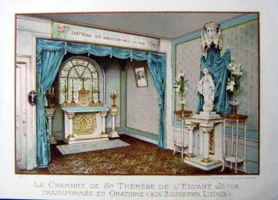 Lisieux, les Buissonnets, Chambre de Thérèse