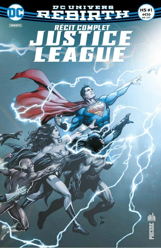 récit complet justice league hs 01 dc rebirth