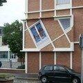Fenêtre trompe l'oeil Le Havre