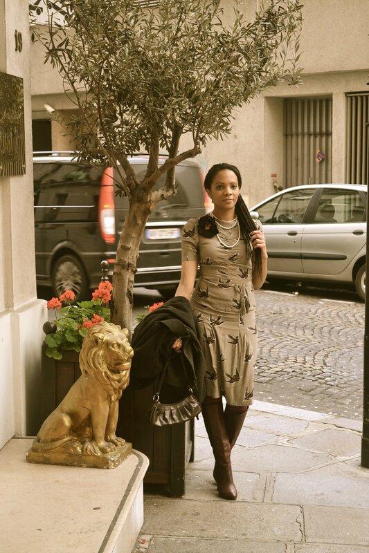 Sara.Ki Champs-Elysées ---