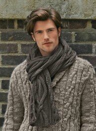 modele snood homme bergere de france