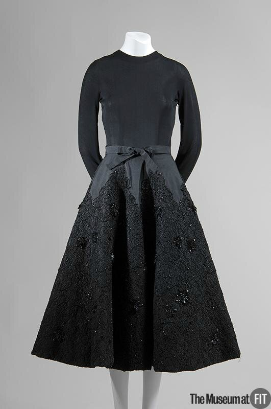 Cristobal Balenciaga, Evening dress, 1951-52