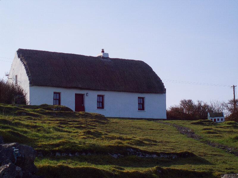 Maison toit de chaume - Thatch roof house
